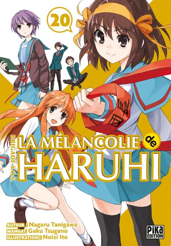 Vol 20 Melancolie De Haruhi Brigade S O S La Manga Manga News