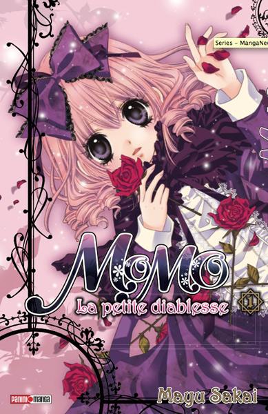 Vol 1 momo la petite diablesse manga manga news - Dessin diablesse ...