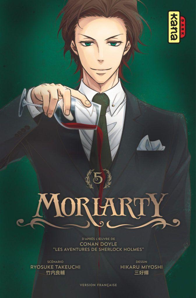 Manga - Manhwa - Moriarty Vol.5