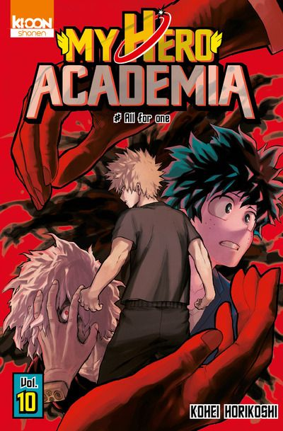My Hero Academia n° 10<br /> All for One