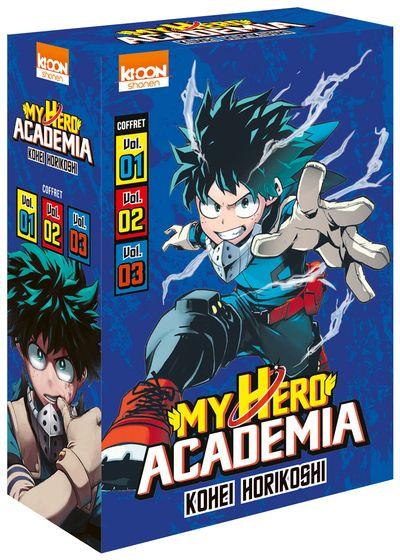 My Hero Academia - Coffret Vol.1