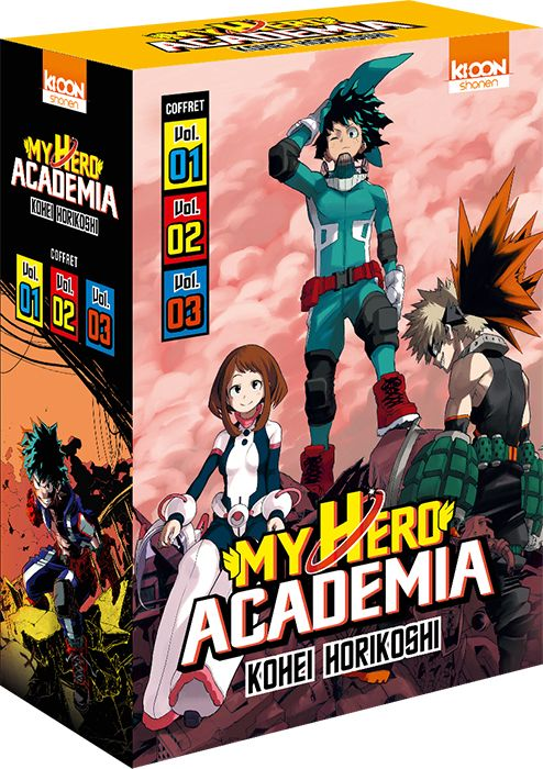 My Hero Academia - Coffret starter (2017)