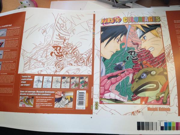 Les ditions kana lancent une collection de livres colorier sur leurs s ries phares 12 - Coloriage manga livre ...