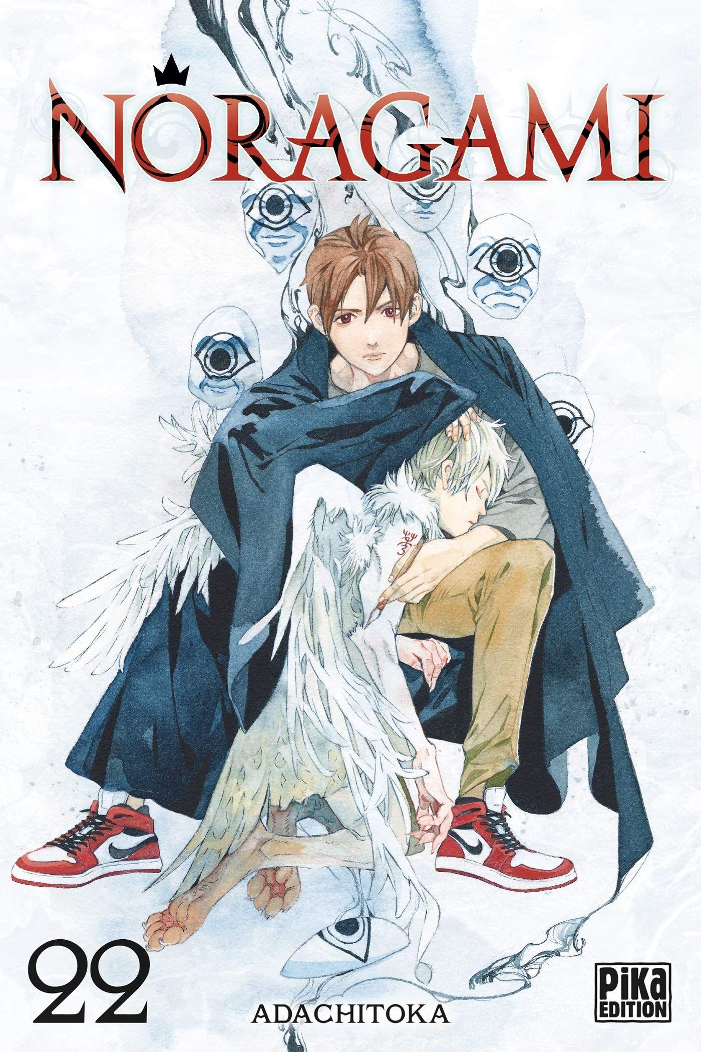 Sortie Manga au Québec JUIN 2021 Noragami-22-pika