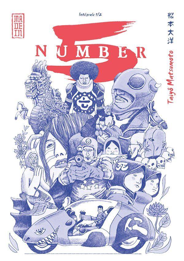 Manga - Manhwa - Number 5 - Intégrale Vol.1