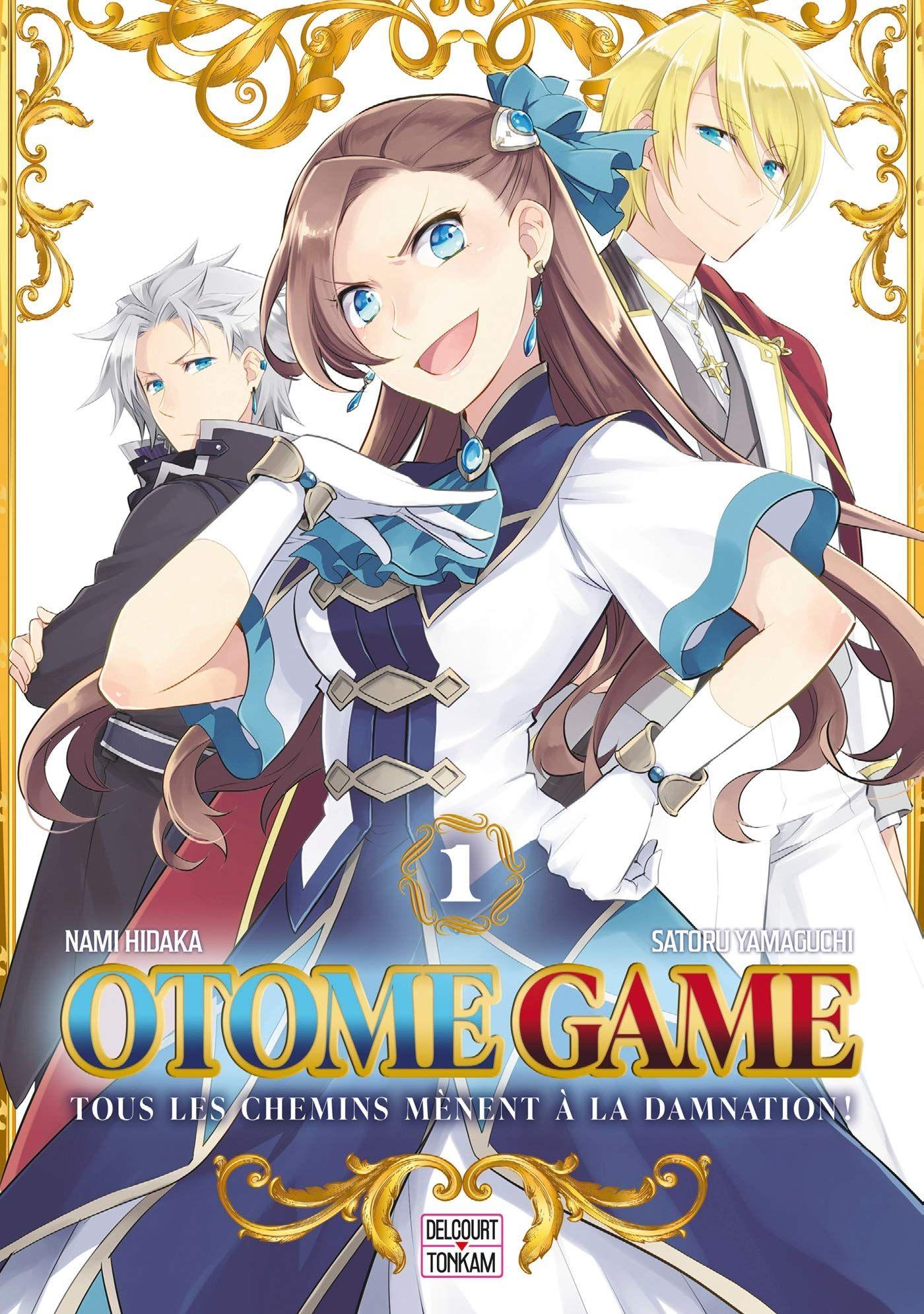 Sortie Manga au Québec JUIN 2021 Otome-game-1-delcourt