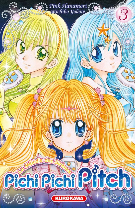 Vol 3 pichi pichi pitch la m lodie des sir nes manga manga news - Dessin de pichi pichi pitch ...