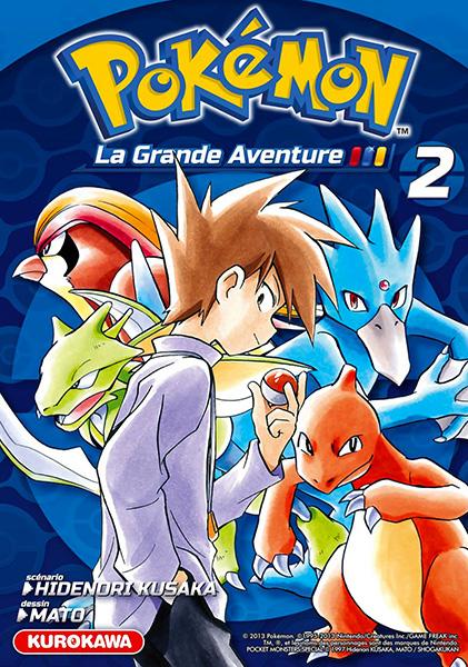 Vol 2 pok mon la grande aventure manga manga news - Pokemon miu two ...