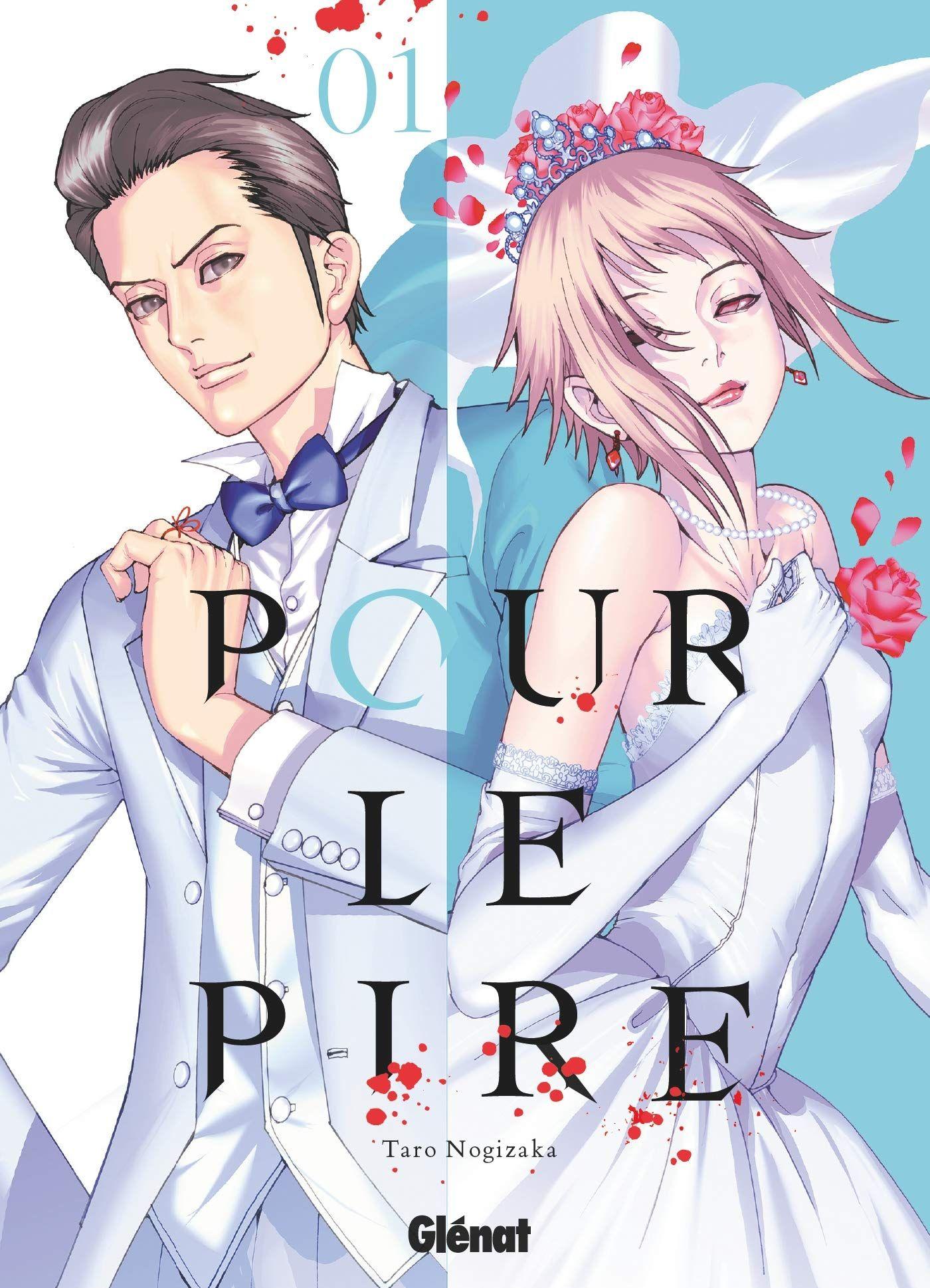 Sortie Manga au Québec MAI 2021 Pour-le-pire-1-glenat