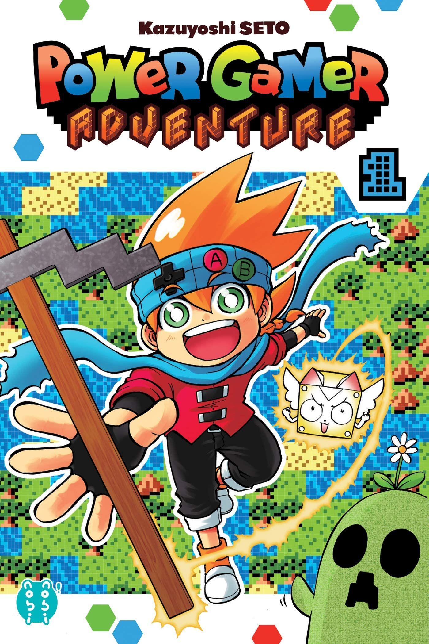Sortie Manga au Québec JUIN 2021 Power-game-adventure-1-nobi