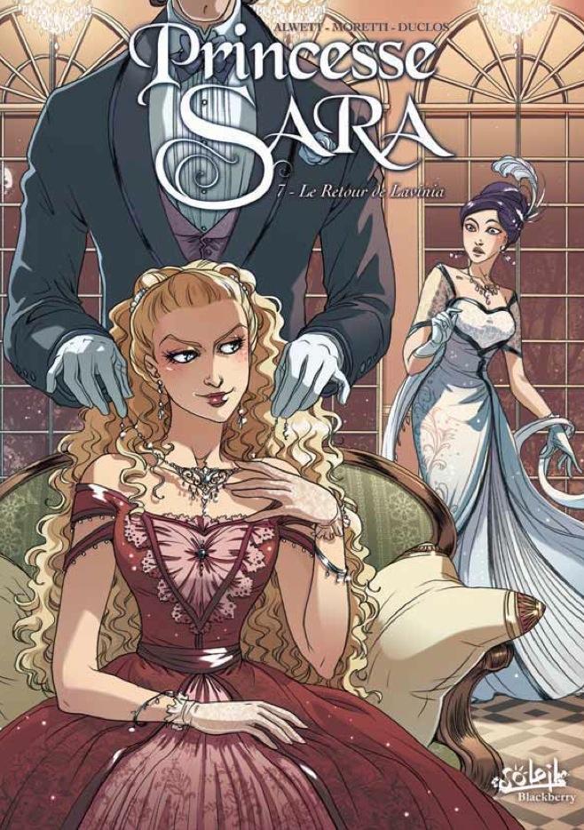 Vol 7 princesse sara le retour de lavinia manga manga news - Dessin anime de princesse sarah ...