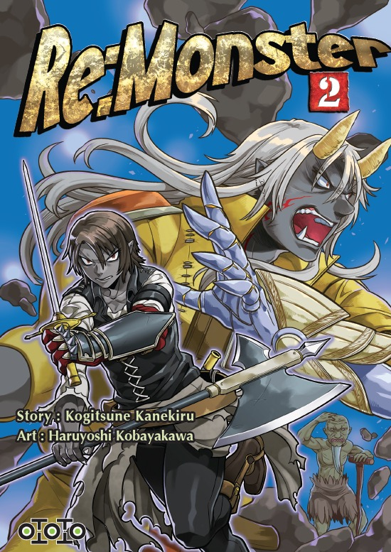 vol 2 re monster - manga