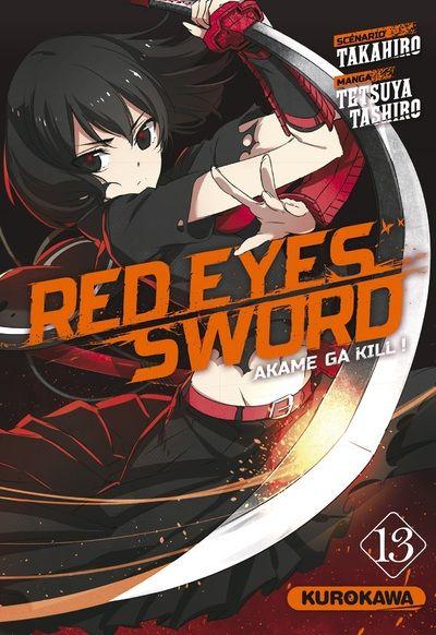 Vol 13 Red Eyes Sword Akame Ga Kill Manga Manga News
