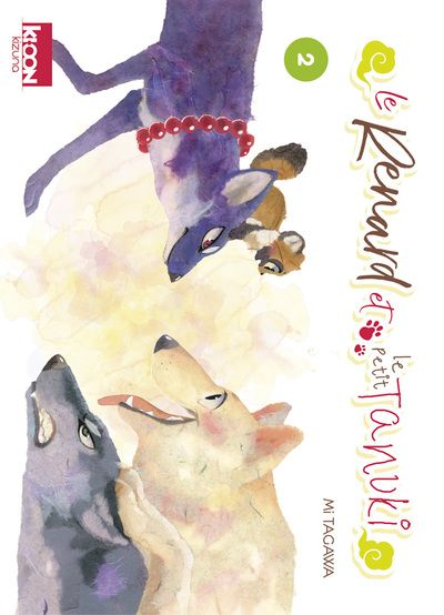 Manga - Manhwa - Renard et le Petit Tanuki (le) Vol.2