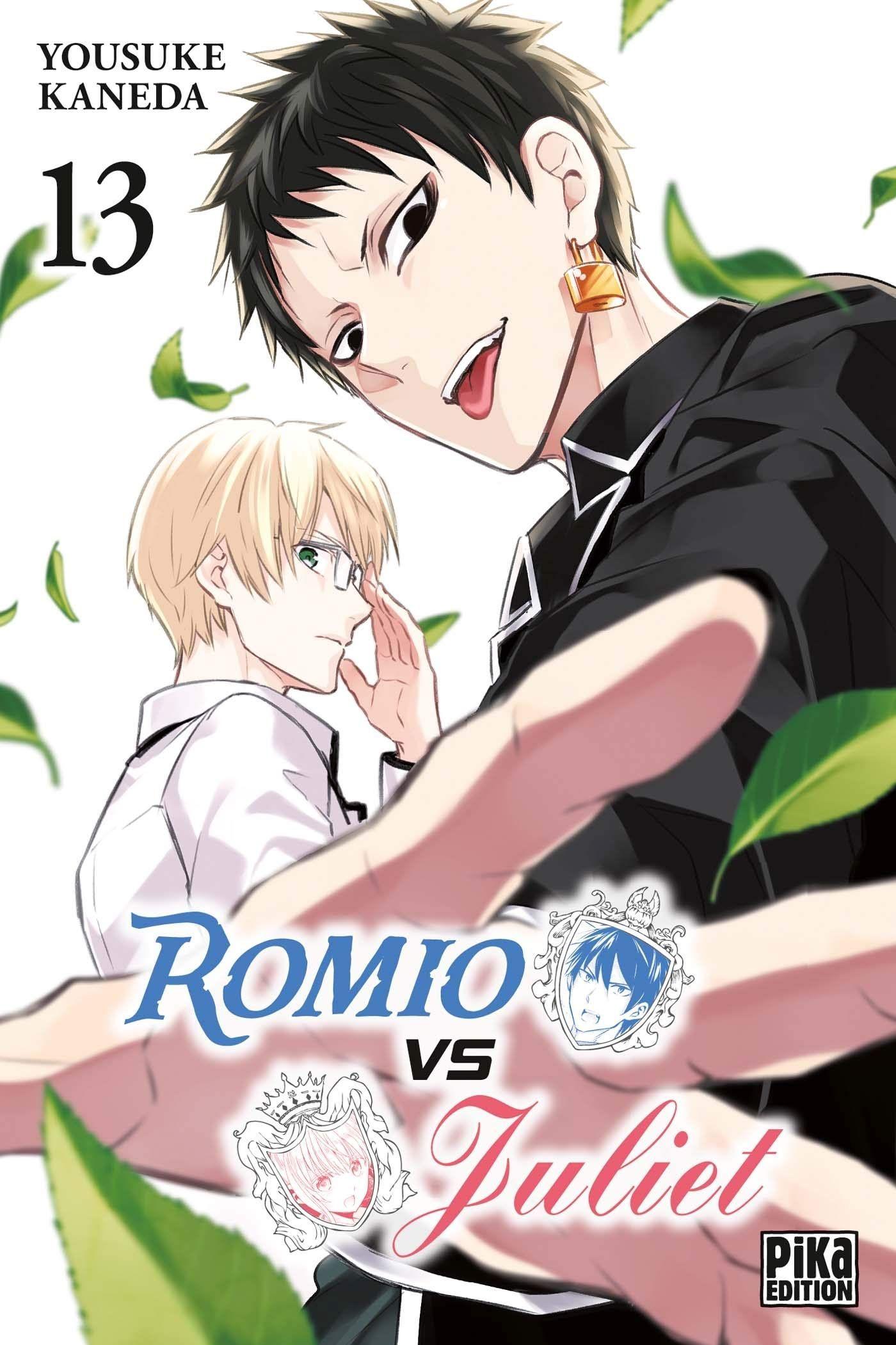 Sortie Manga au Québec JUILLET 2021 Romio-vs-juliette-13-pika