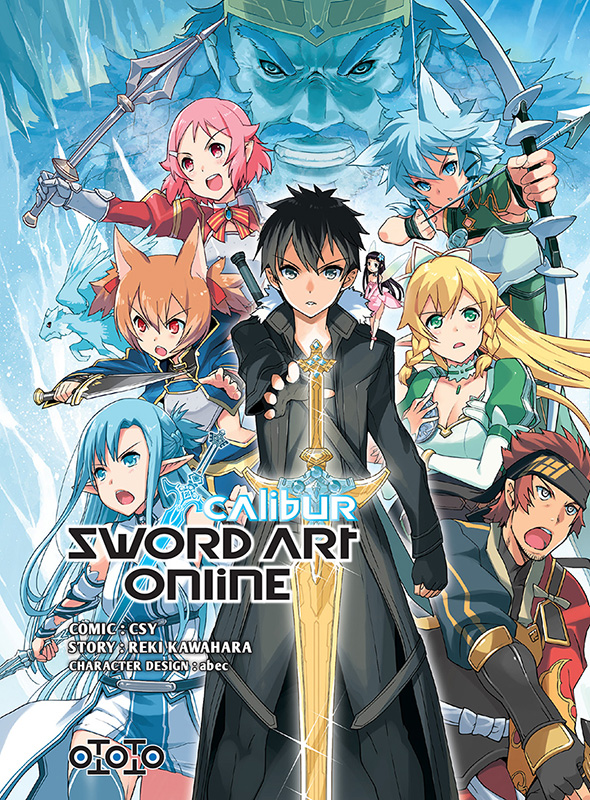 Sword art online calibur manga manga news - Manga 0 colorier ...