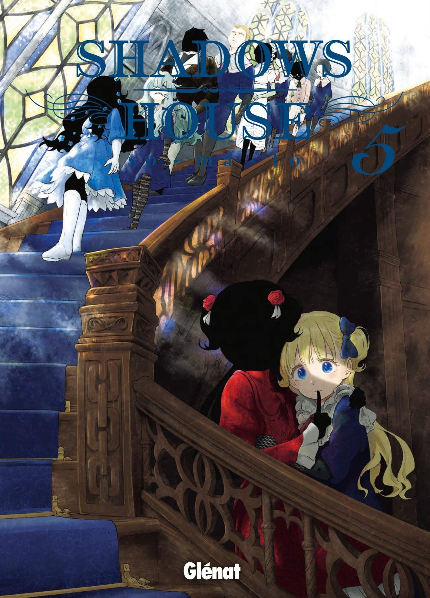 Sortie Manga au Québec JUIN 2021 Shadow-house-5-glenat