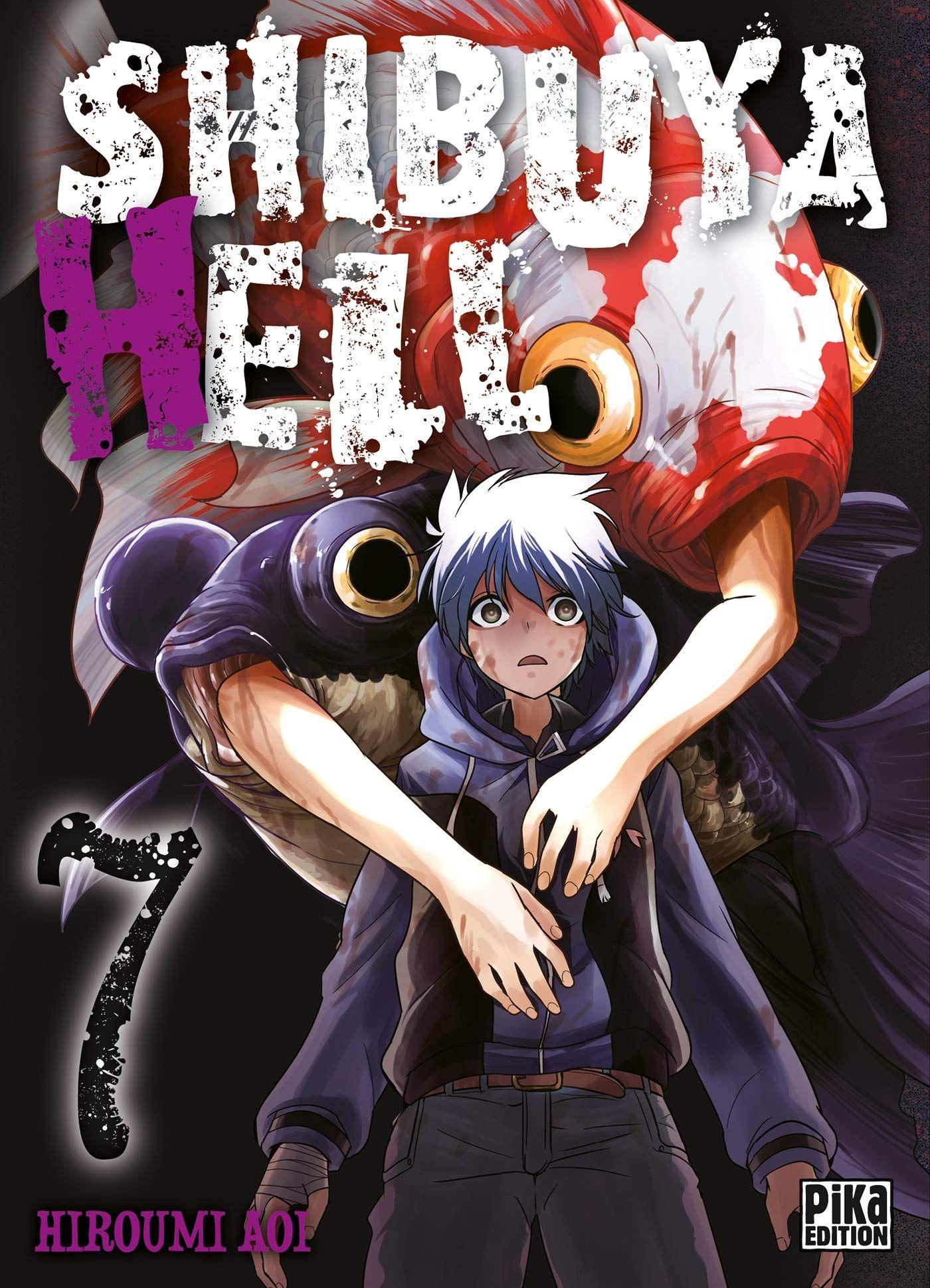 Sortie Manga au Québec JUIN 2021 Shibuya-hell-7-pika