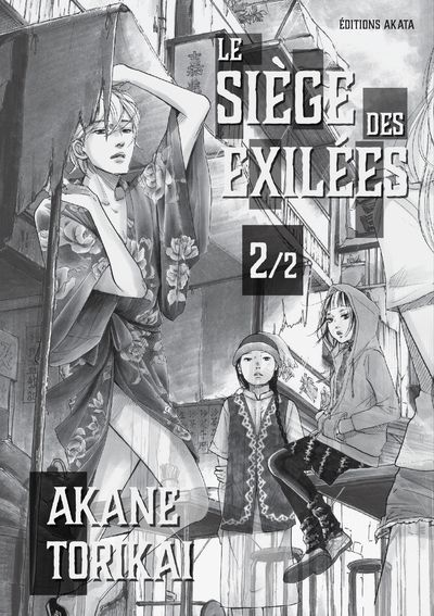 Sortie Manga au Québec MAI 2021 Siege-exiles-2-akata