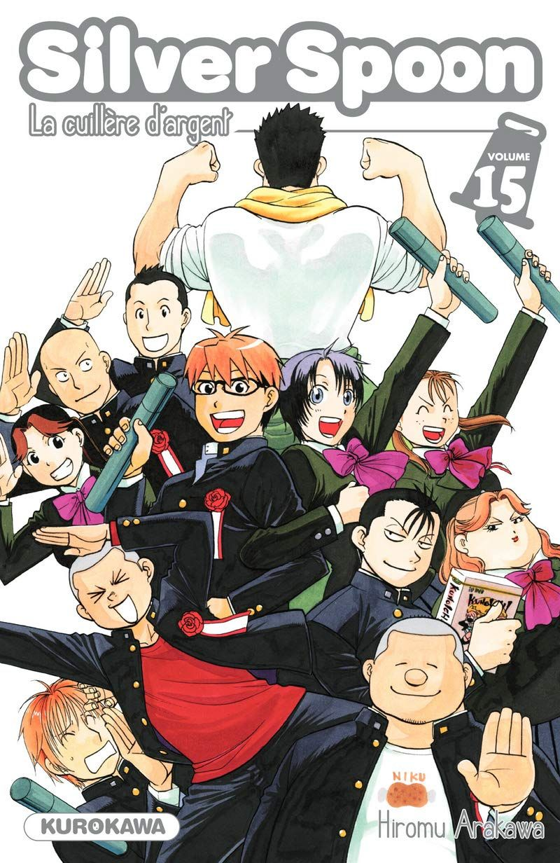 Vol.15 Silver Spoon - La cuillère d'argent - Manga - Manga news