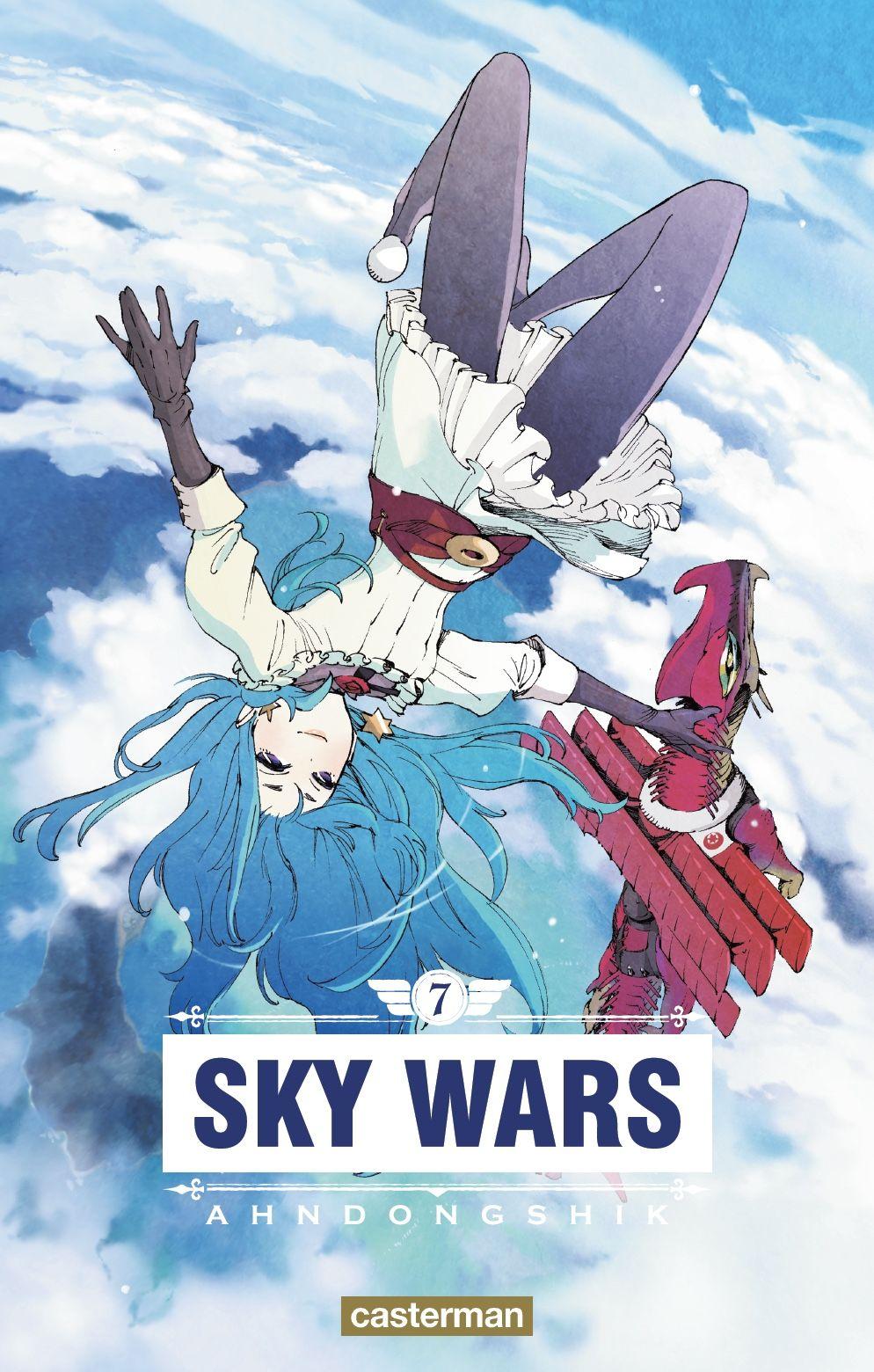 Sortie Manga au Québec JUIN 2021 Sky-ward-7-casterman