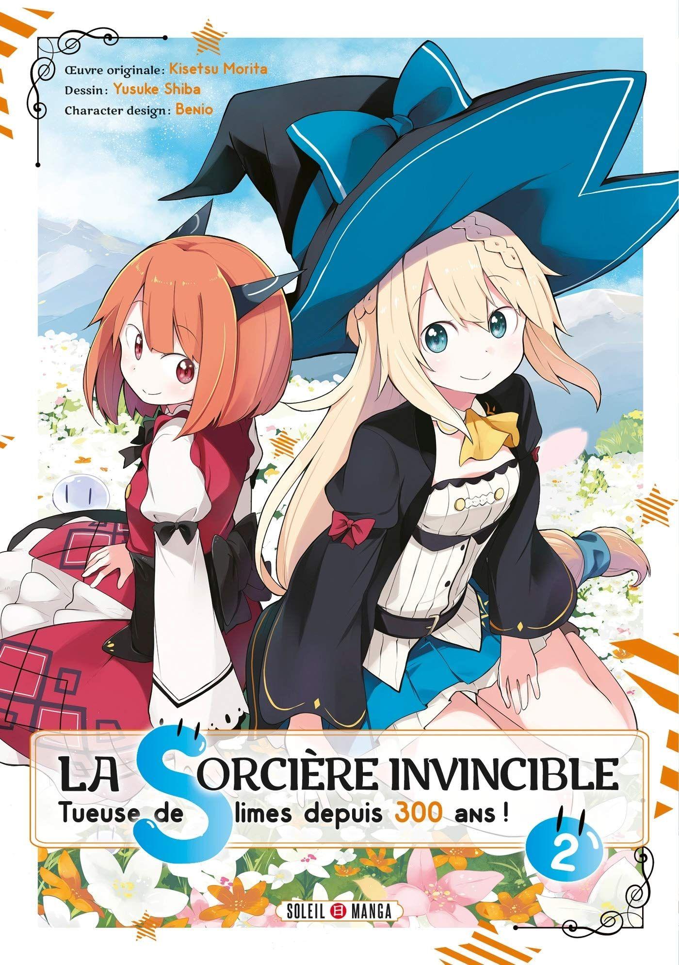 Sortie Manga au Québec JUIN 2021 Sorciere-invincible-300-ans-2-soleil