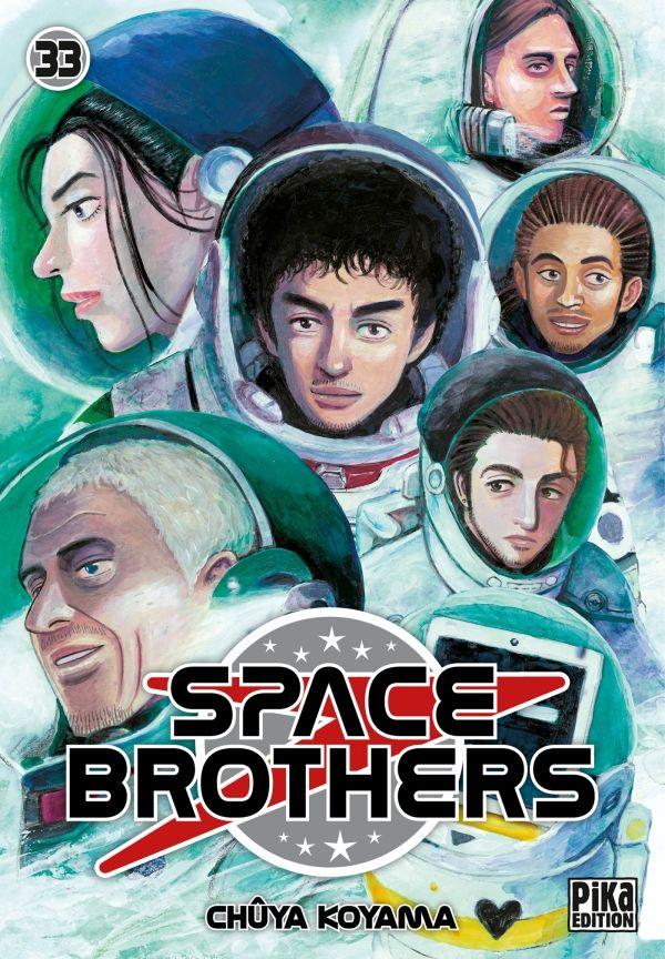 Sortie Manga au Québec MAI 2021 Space-brothers-33-pika