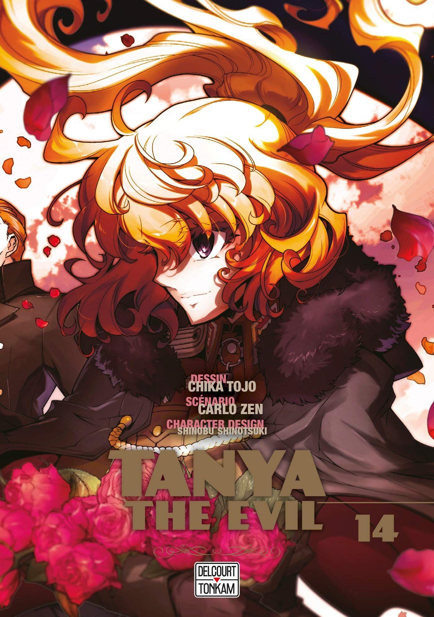 Sortie Manga au Québec JUIN 2021 Tanya-evil-14-delcourt