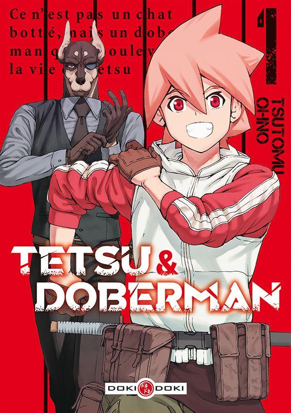 Sortie Manga au Québec JUIN 2021 Tetsu-dobberman-1-doki
