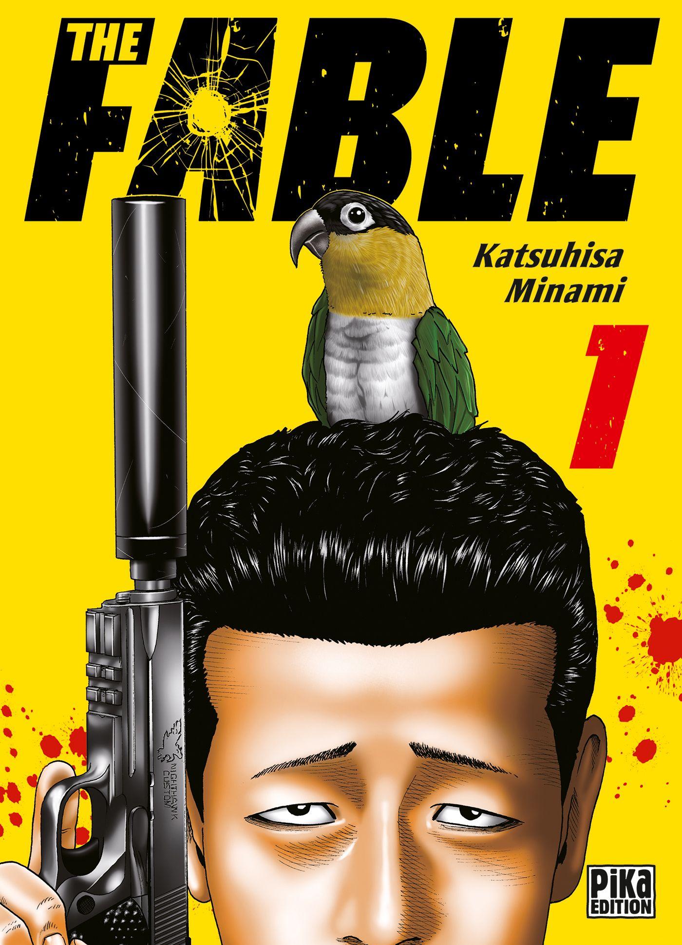 Sortie Manga au Québec JUIN 2021 The-fable-1-pika