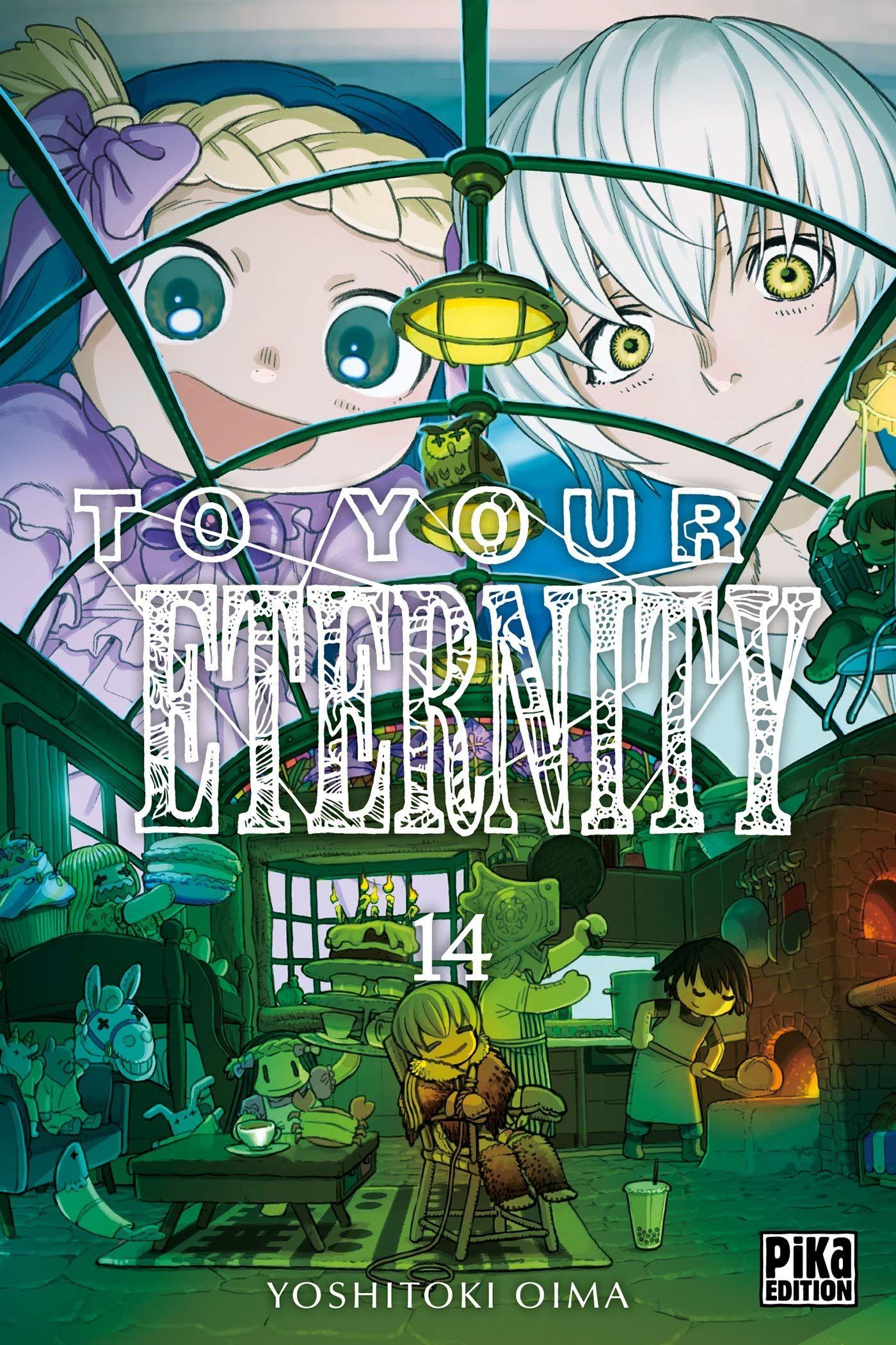 Sortie Manga au Québec JUIN 2021 To-tour-eternity-14-pika