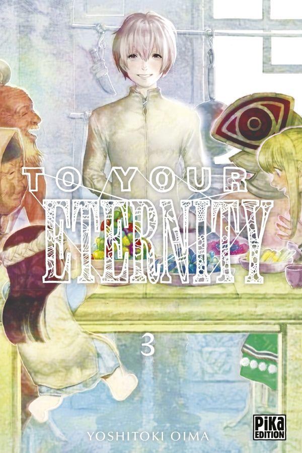 Manga - Manhwa - To Your Eternity Vol.3