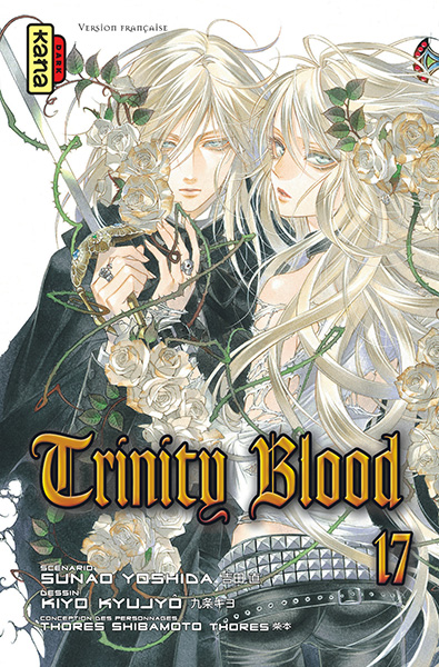 TRINITY BLOOD © Kiyo KYUJYO 2004 © Sunao YOSHIDA 2004 / KADOKAWA SHOTEN Publishing Co., Ltd