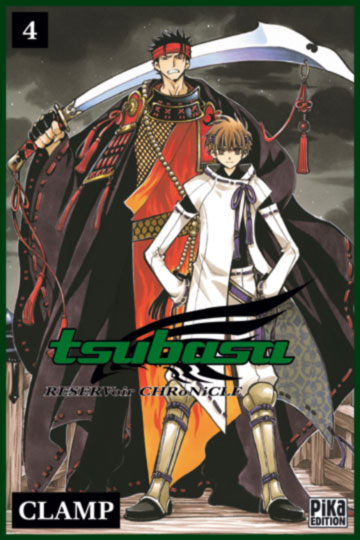 Les résumés des volumes Tsubasa_reservoir_04
