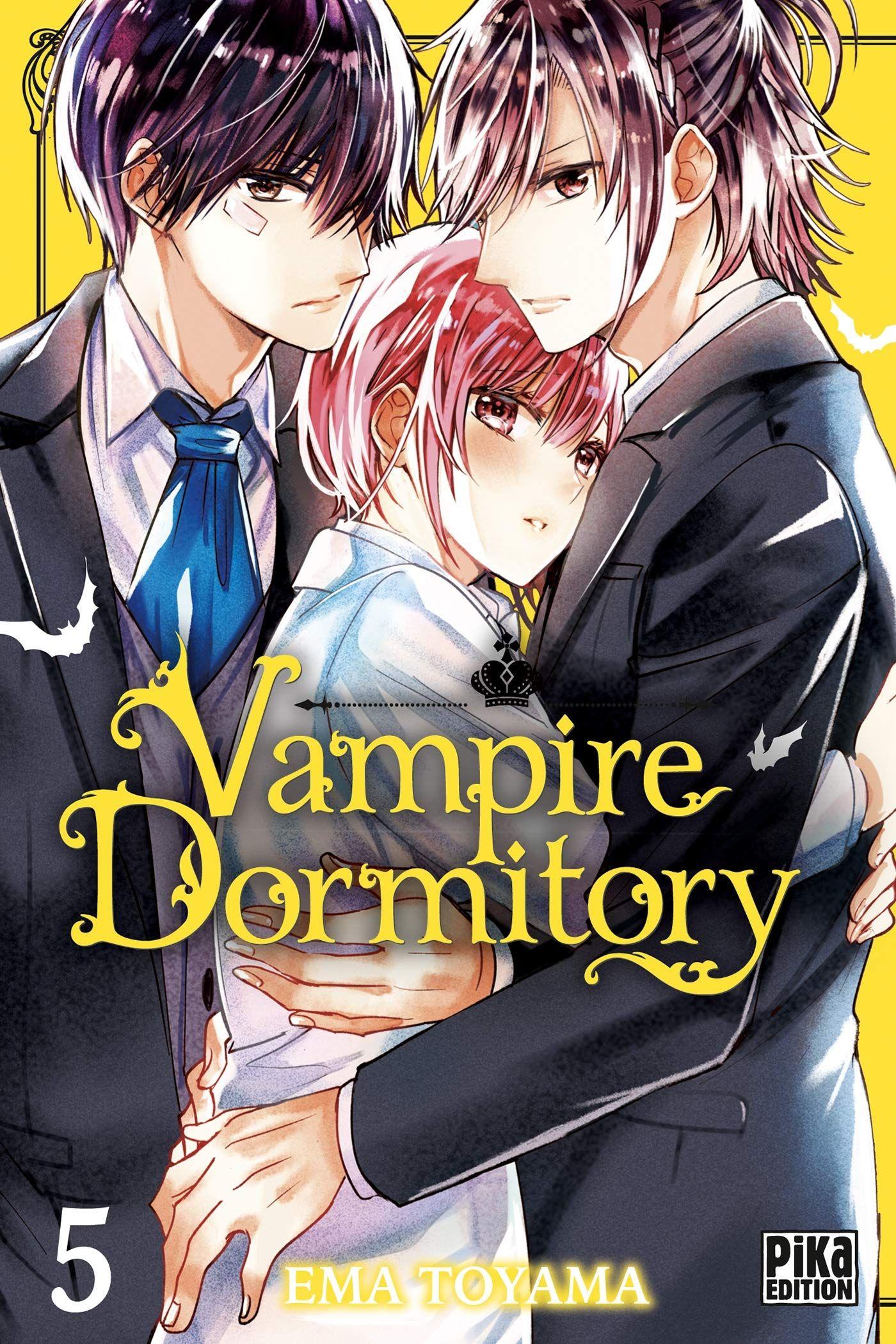 Sortie Manga au Québec JUILLET 2021 Vampire-dormitory-5-pika