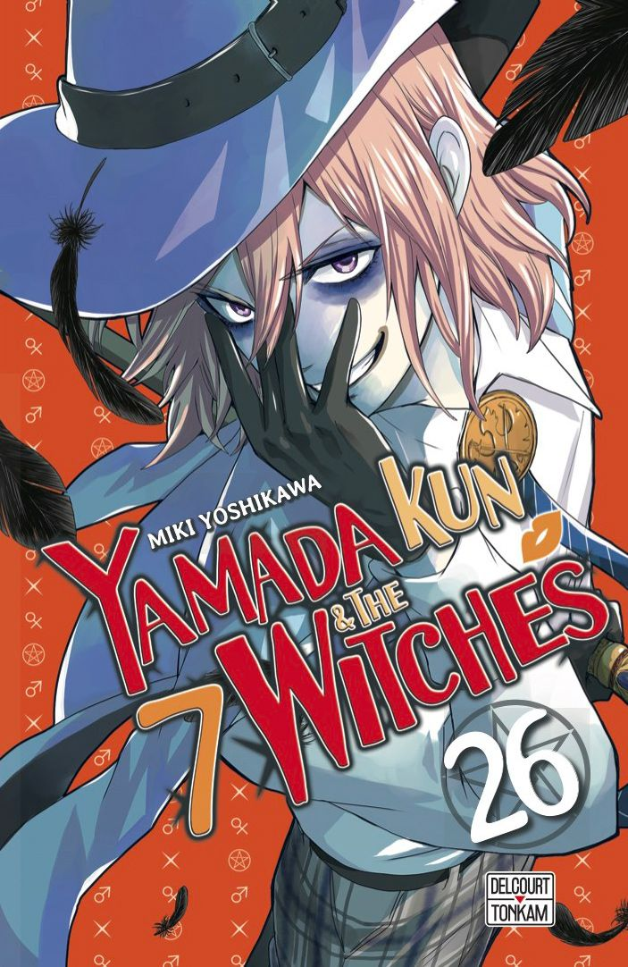 Sortie Manga au Québec JUIN 2021 Yamada-kun-26-delcourt