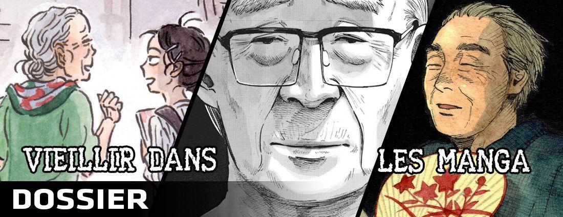 Dossier vieillir en manga