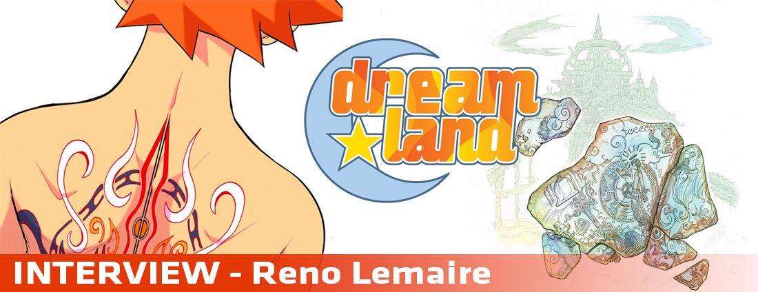 Interview dreamland-artbook